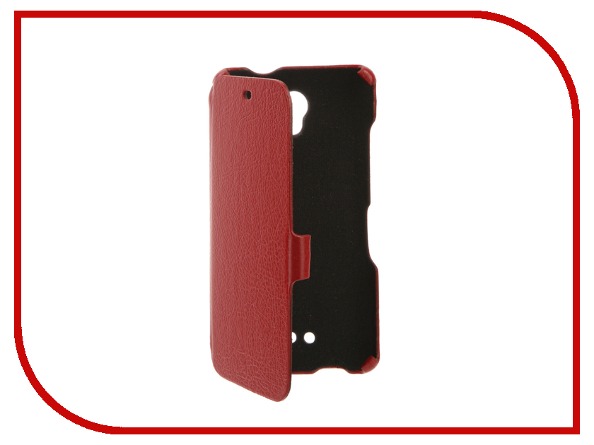 Аксессуар Чехол BQ BQS-5025 Highway Cojess Ultra Slim Book Экокожа флотер Red аксессуар чехол bq bqs 5050 strike selfie cojess ultra slim book экокожа флотер silver