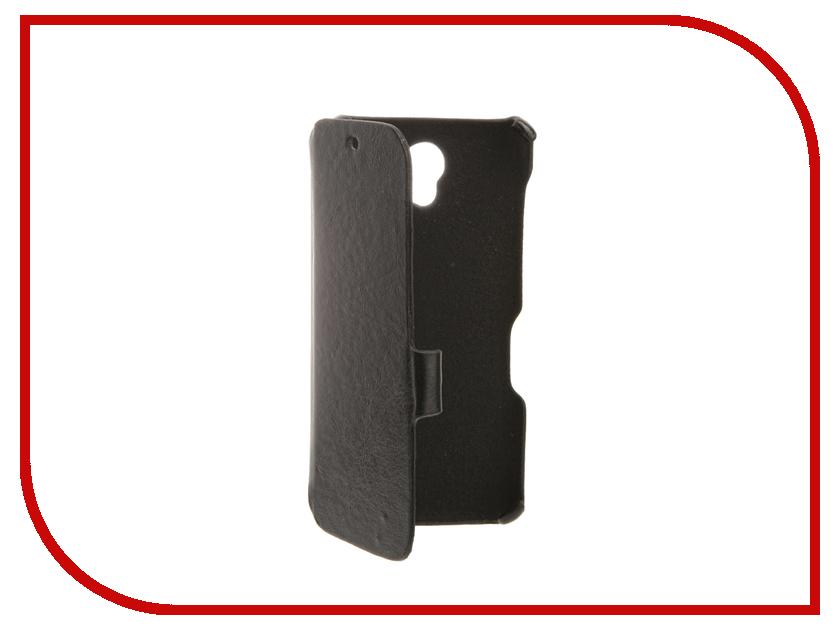 Аксессуар Чехол BQ BQS-4560 Golf Cojess Ultra Slim Book Экокожа флотер Black<br>
