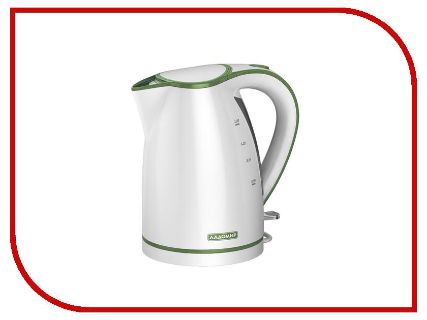 Чайник Ладомир 327 White-Green<br>
