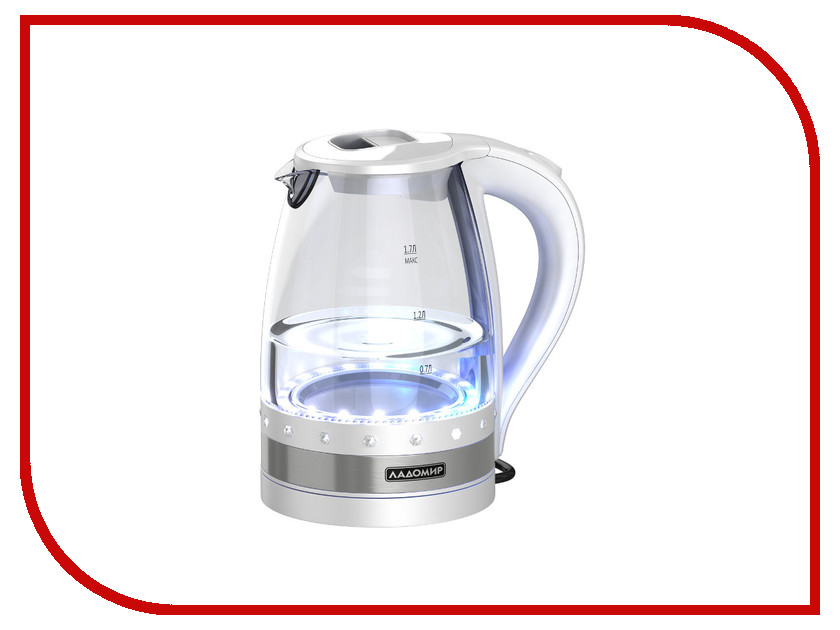 Чайник Ладомир 115 White чайник ладомир аа421