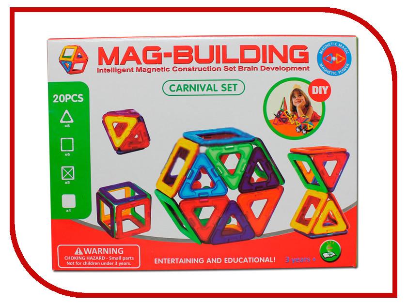 Игрушка Конструктор Mag-Building MG003 20 магнитов<br>