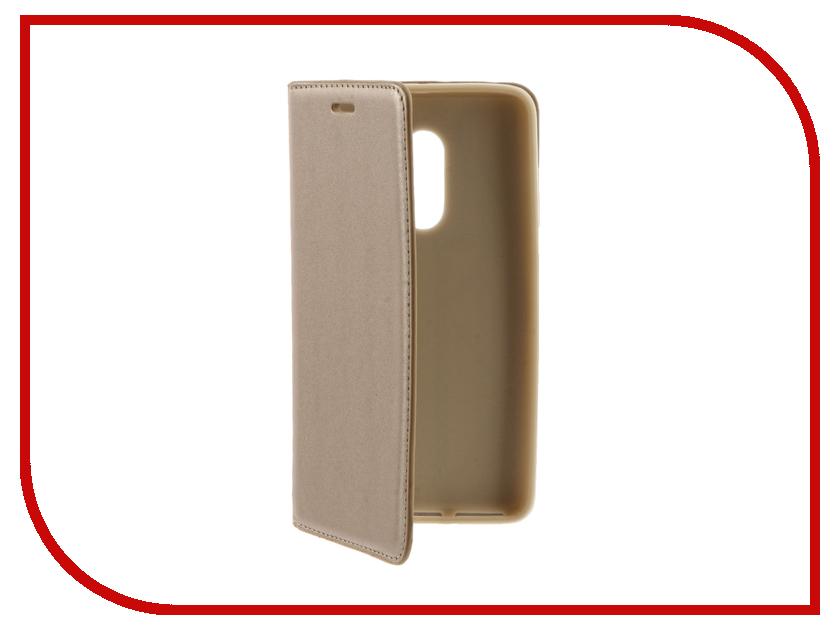 Аксессуар Чехол Xiaomi Redmi Note 4 Pro / Redmi Note 4 Cojess Book Case Gold с визитницей<br>