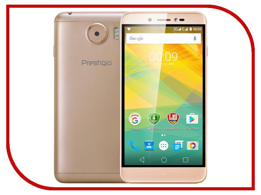 Сотовый телефон Prestigio Grace Z5 Gold PSP5530DUOGOLD<br>