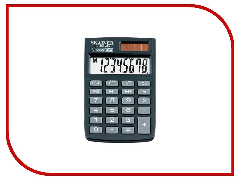 Калькулятор Skainer SK-108XBK<br>