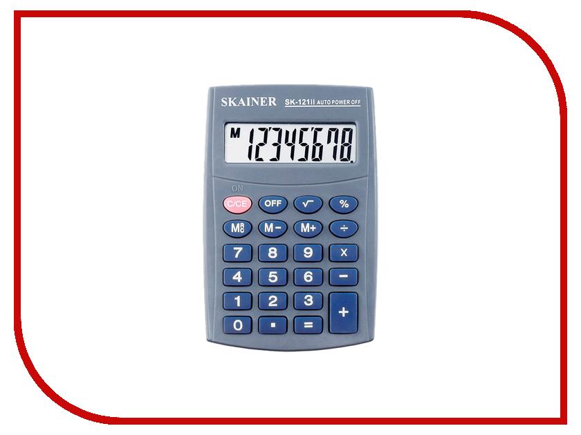 Калькулятор Skainer SK-121II калькулятор skainer sk 110ii