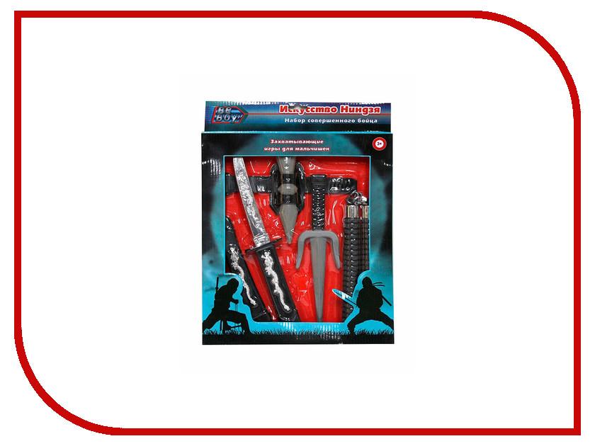 Игра BeBoy Ниндзя 6 предметов IT100529 игра beboy инструменты 29x7x25 5cm 7773