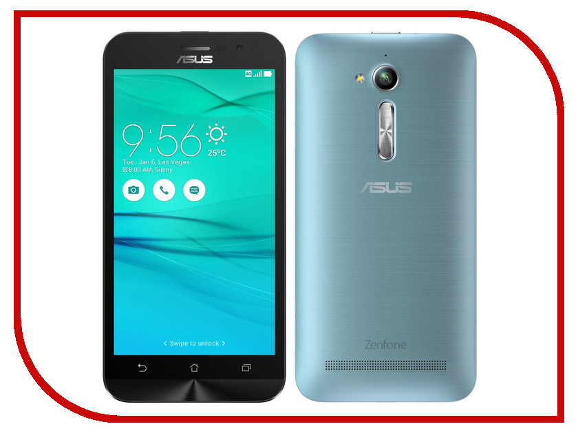 Сотовый телефон ASUS ZenFone Go ZB500KL Blue<br>