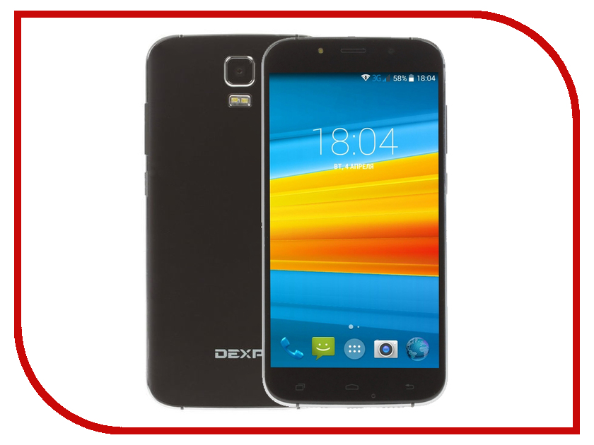 Сотовый телефон DEXP Ixion ES255 Fire Black сотовый телефон dexp larus e7 black