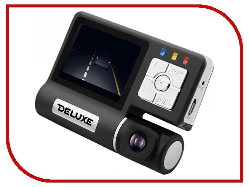 Видеорегистратор Deluxe DLVR-120B Black<br>