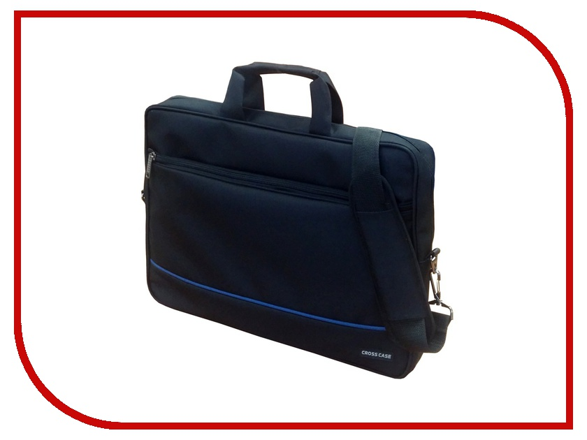 Аксессуар Сумка 17.3 Cross Case CC17-003 Black аксессуар сумка 15 6 cross case cc15 003 red