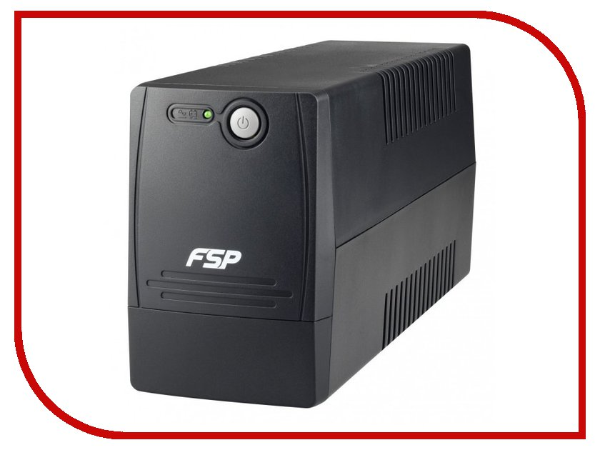 Источник бесперебойного питания FSP DP650 650VA 360W источник бесперебойного питания fsp dpv650 650va 360w