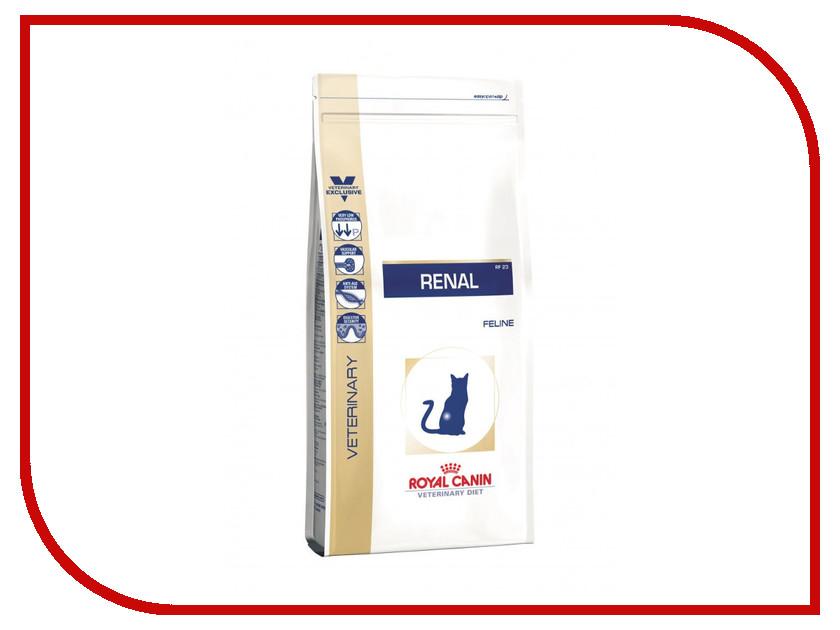 Корм ROYAL CANIN Renal Feline RF23 4kg сухой для кошек 725040/670040<br>