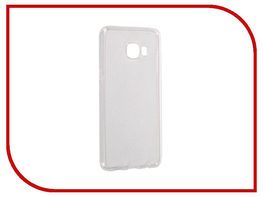 Аксессуар Чехол Samsung Galaxy C5 2016 InterStep IS Slender Transparent HSD-SAG00C5K-NP1100O-K100<br>