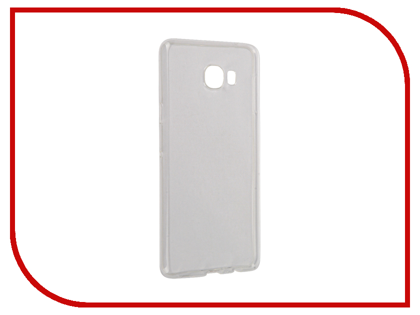 Аксессуар Чехол Samsung Galaxy C7 2016 InterStep IS Slender Transparent HSD-SAG00C7K-NP1100O-K100<br>