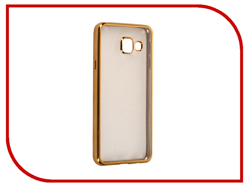 Аксессуар Чехол Samsung Galaxy A3 2016 InterStep IS Frame Gold HFR-SAGA316K-NP1116O-K100<br>