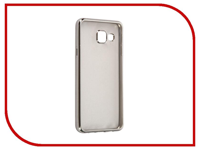 Аксессуар Чехол Samsung Galaxy A3 2016 InterStep IS Frame Silver HFR-SAGA316K-NP1117O-K100<br>