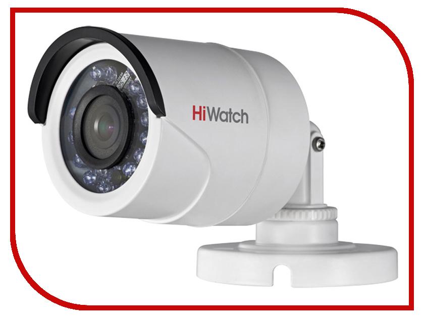 Аналоговая камера HiWatch DS-T100 3.6mm аналоговая камера hiwatch ds t106 2 8 12mm