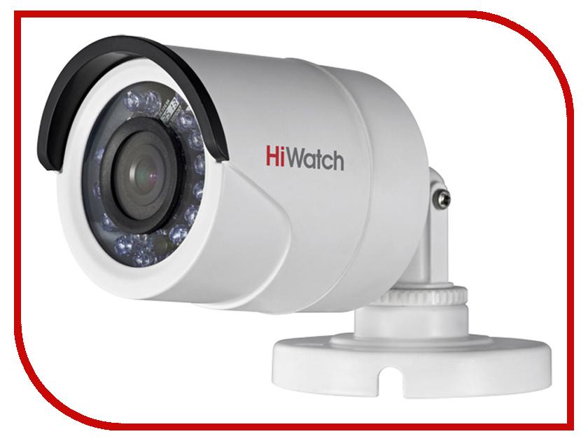 Аналоговая камера HiWatch DS-T100 2.8mm аналоговая камера hiwatch ds t106 2 8 12mm