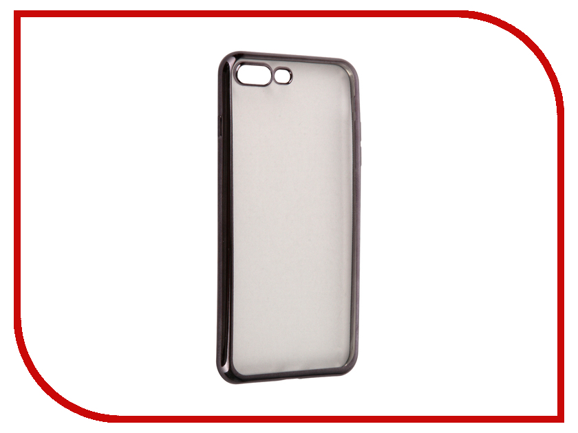 Аксессуар Чехол InterStep IS Frame для APPLE iPhone 7 Plus Titanium HFR-APIPH7PK-NP1119O-K100<br>