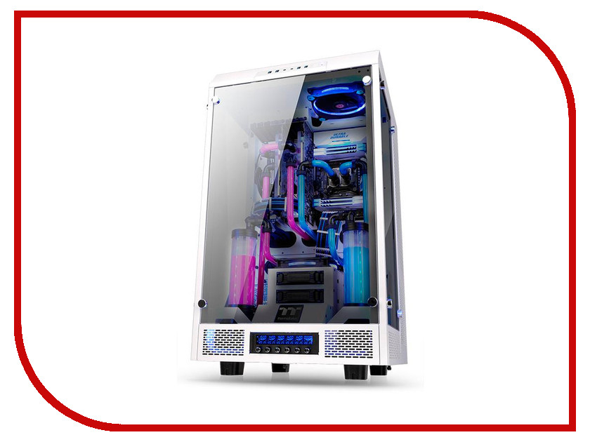Корпус Thermaltake The Tower 900 White CA-1H1-00F6WN-00 casio tq 140 1e