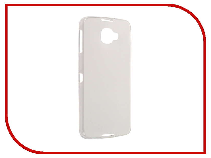 Аксессуар Чехол Alcatel Idol 4S InterStep IS Slender Transparent HSD-ALIDO4SK-NP1101O-K100<br>