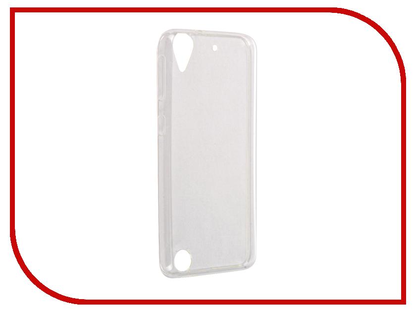 Аксессуар Чехол HTC Desire 530 InterStep IS Slender TPU Transparent HSD-HTDS530K-NP1101O-K100
