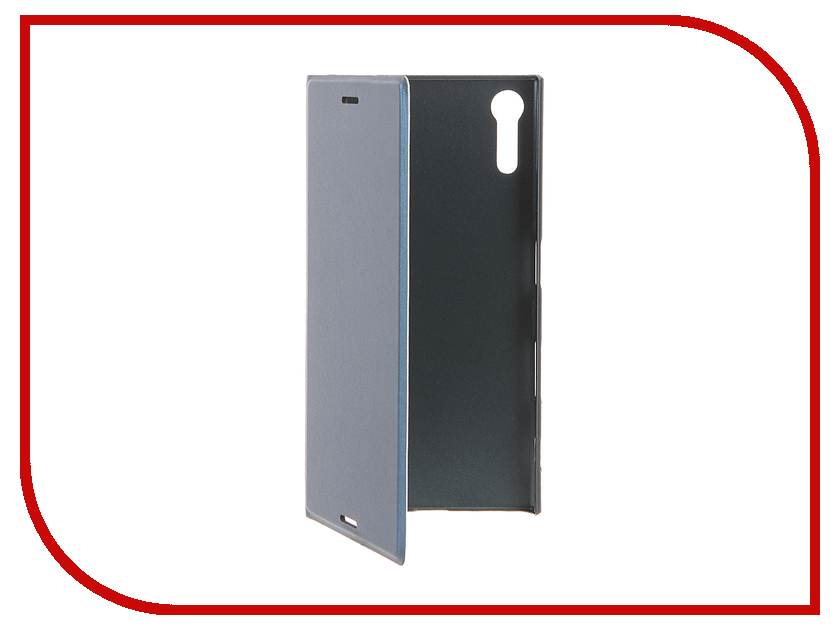 Аксессуар Чехол Sony Xperia XZ BROSCO Blue XZ-BOOK-FORESTBLUE аксессуар чехол htc u ultra brosco black htc uu book black
