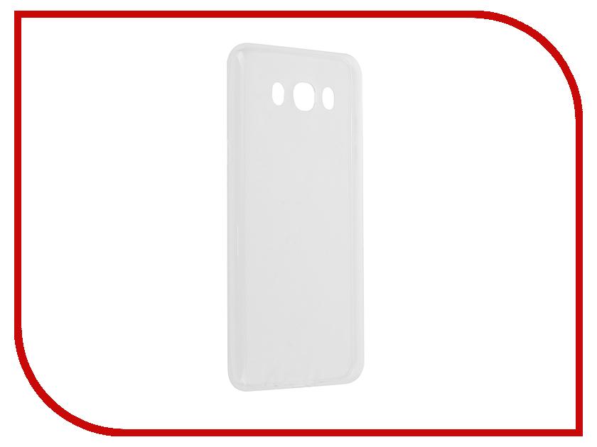 Аксессуар Чехол Samsung Galaxy J7 BROSCO Transparent SS-J7-TPU-TRANSPARENT<br>