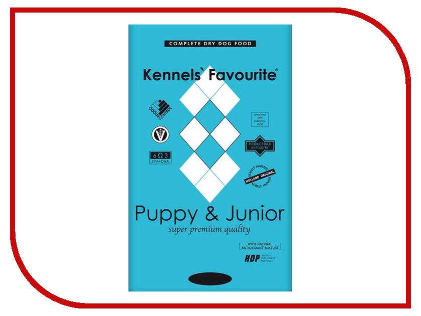 Корм Kennels Favourite Puppy &amp; Junior 4kg<br>