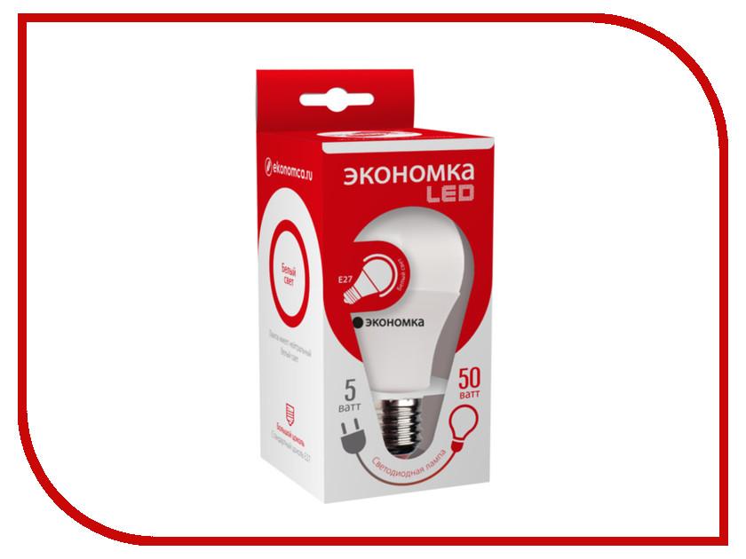 Лампочка Экономка A60 5W E27 230V 4500K Eco_LED5WA60E2745