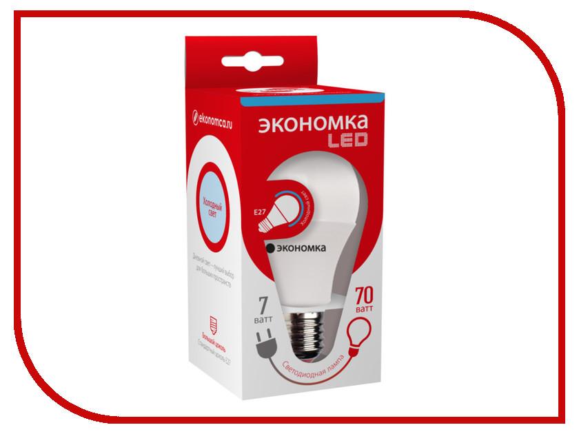 Экономка - Лампочка Экономка A60 7W E27 230V 6500K Eco_LED7WA60E2765