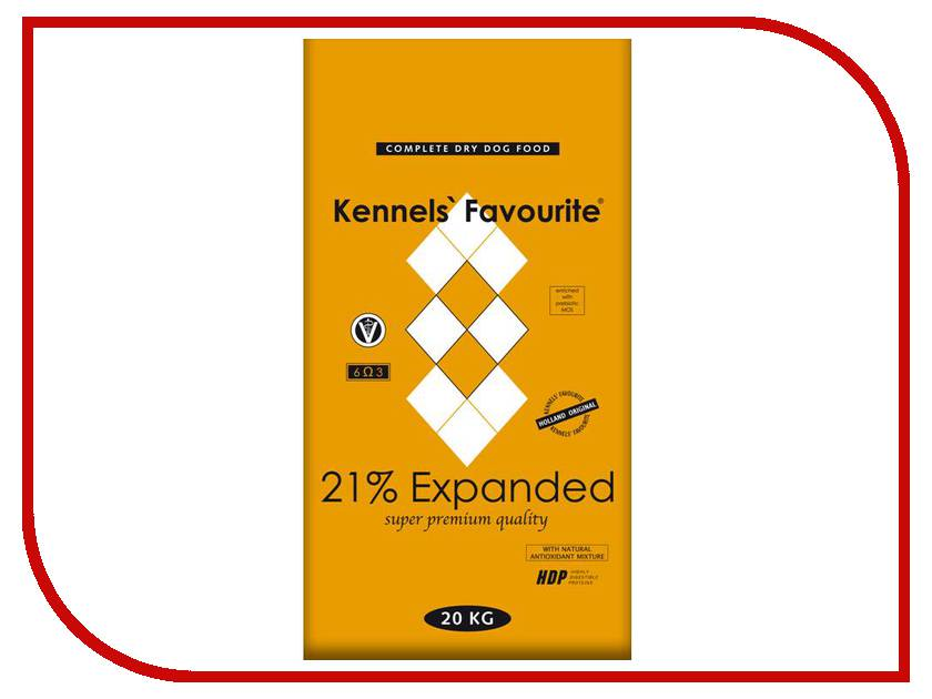 Корм Kennels Favourite Expanded 21% 20kg<br>