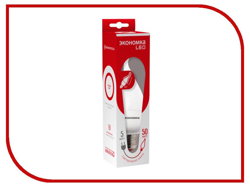 Лампочка Экономка Свеча на ветру 5W E27 230V 4500K Eco_LED5WCWE2745<br>