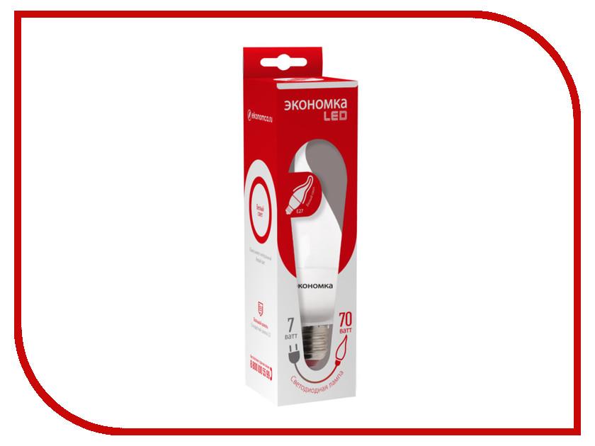 Лампочка Экономка Свеча на ветру 7W E27 230V 4500K Eco_LED7WCWE2745