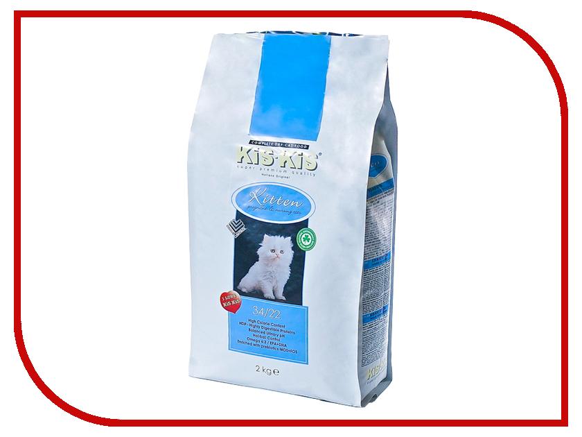 Корм KiS-KiS Kitten 2 кг для беременных кошек и котят<br>