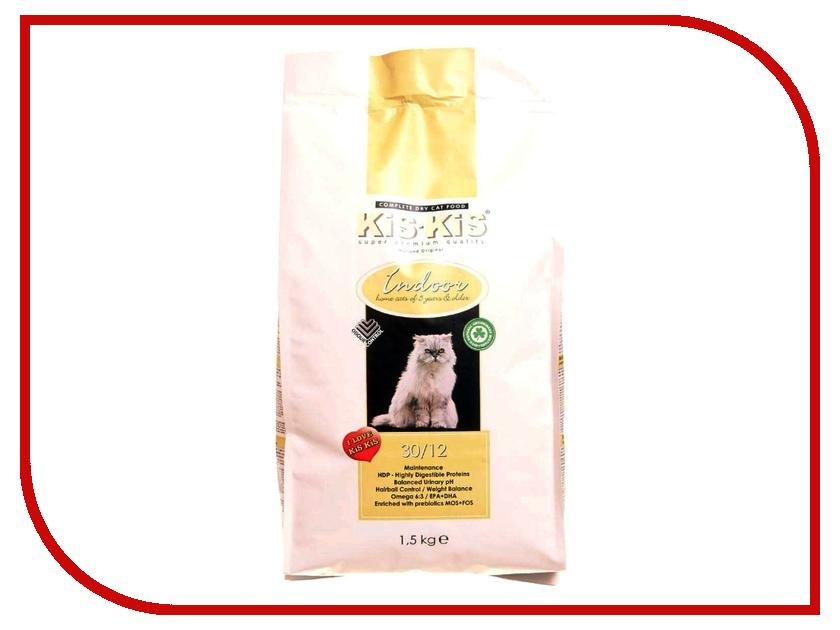 Корм KiS-KiS Indoor 1.5kg для кошек<br>
