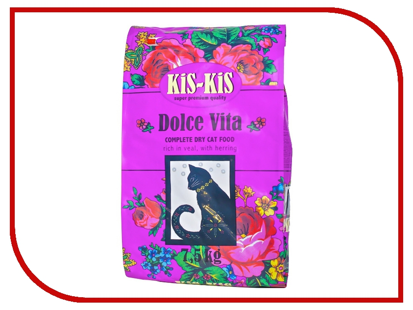 Корм KiS-KiS Dolce Vita 7.5kg