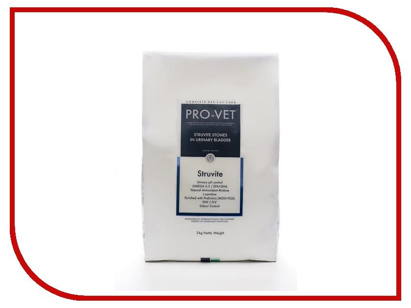 Корм PRO-VET Struvite 3kg для кошек<br>