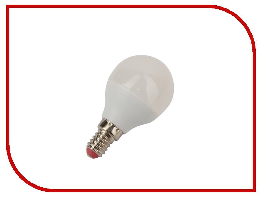 Лампочка Экономка Шарик GL45 5W Е14 230V 6500K Eco_LED5WGL45E1465 лампочка экономка a60 14w e27 230v 6500k ecol14wa60230ve2765