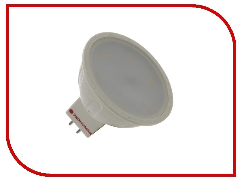 Лампочка Экономка Свеча на ветру 5W E14 160-260V 450Lm 2700K EcoLedFL5wCWE1427
