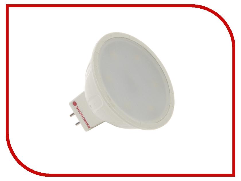 Лампочка Экономка 3W JCDR GU5.3 230V 4500K матовое стекло Eco_LED3WJCDRC45_fr