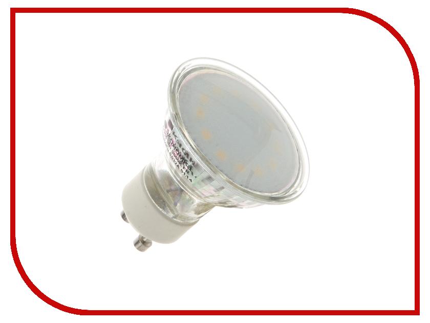 Лампочка Экономка 3W GU10 230V 3000K матовое стекло Eco_LED3WGU10C30_fr<br>