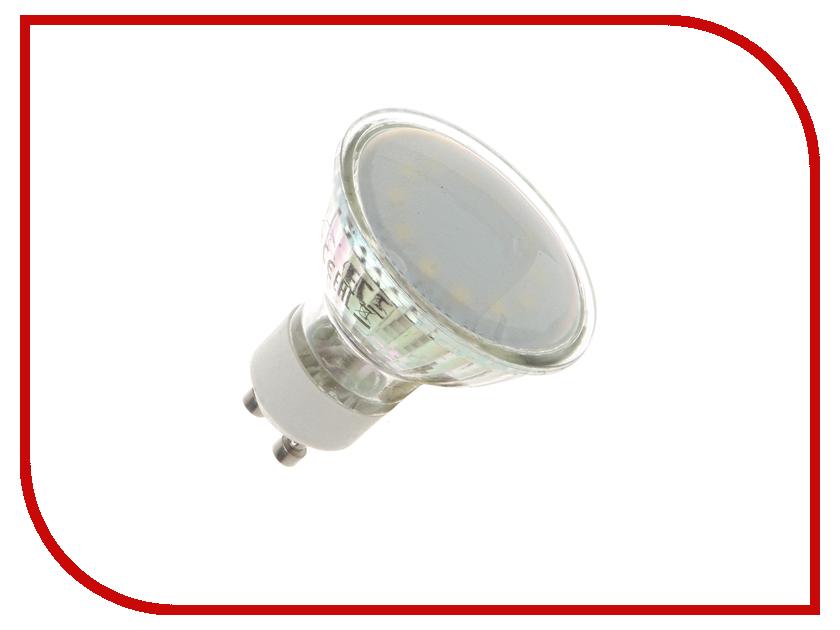 Лампочка Экономка 3W GU10 230V 4500K матовое стекло Eco_LED3WGU10C45_fr<br>