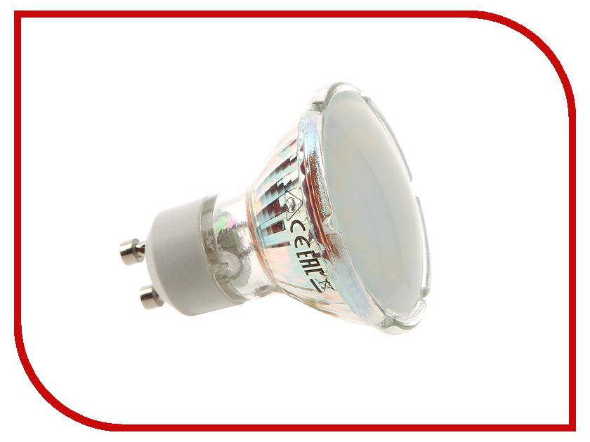 Лампочка Экономка 5W GU10 230V 3000K матовое стекло Eco_LED5WGU10C30_fr<br>