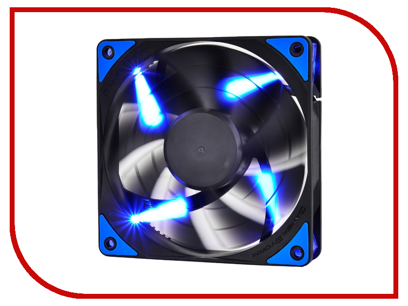 Вентилятор Deepcool TF120 120mm Black-Blue BK/BUL DPGS-FTF-TF120BG