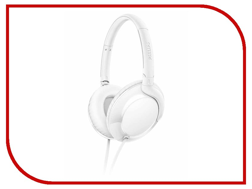 Philips SHL4600 White гарнитура philips she1455 white