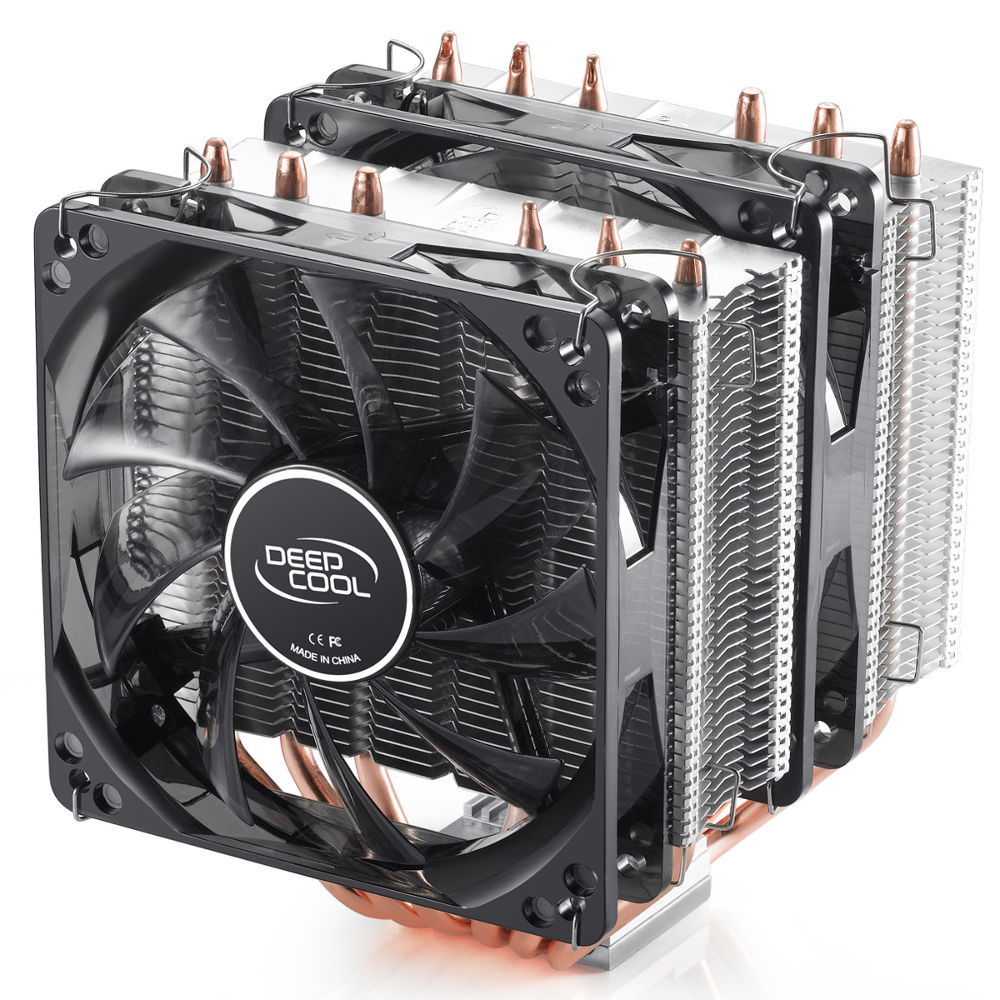 Кулер Deepcool Neptwin V2 Black DP-MCH6-NT (Intel 2011/1366/1156/1155/1151/1150/775/AMD FM2/FM1/AM3+/AM3/AM2+/AM2)