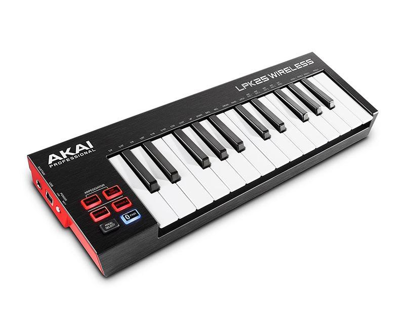 MIDI-клавиатура AKAI PRO LPK25 Wireless