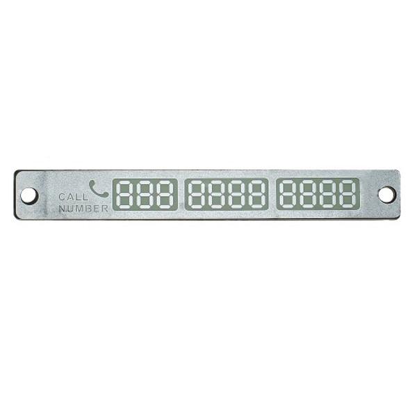 Люминесцентная авто визитка Blast BCN-300 Chrome