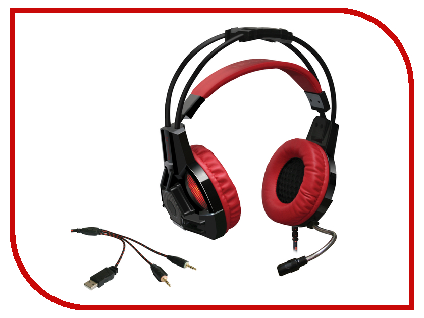 Redragon Lester Red-Black 64205 redragon samsara black red usb